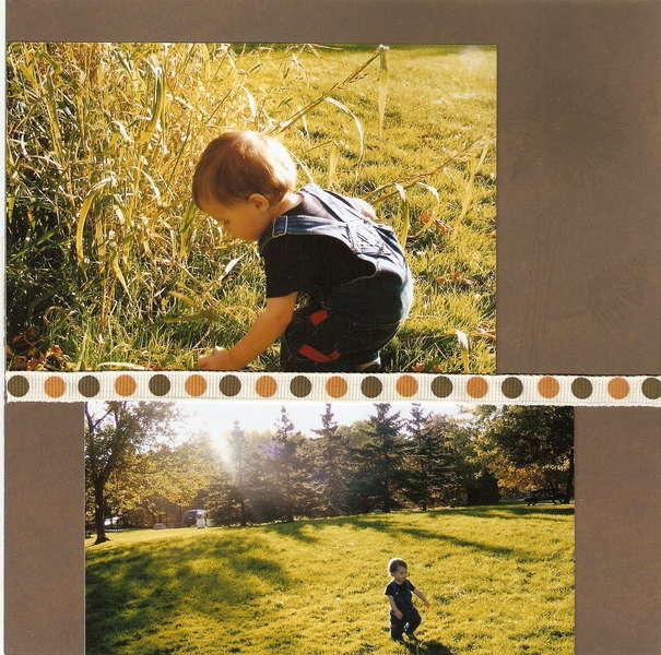 Fall - Page 9 (8x8 mini-album)