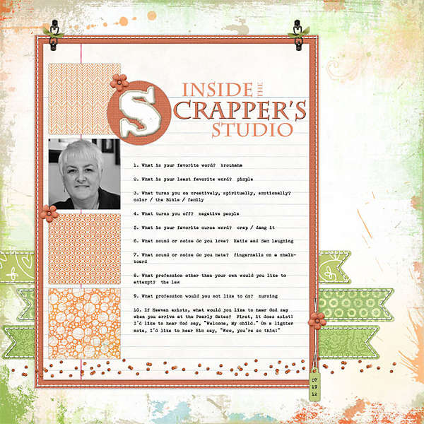 Inside the Scrapper's Studio
