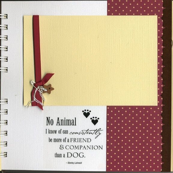 Puppy Love mini book
