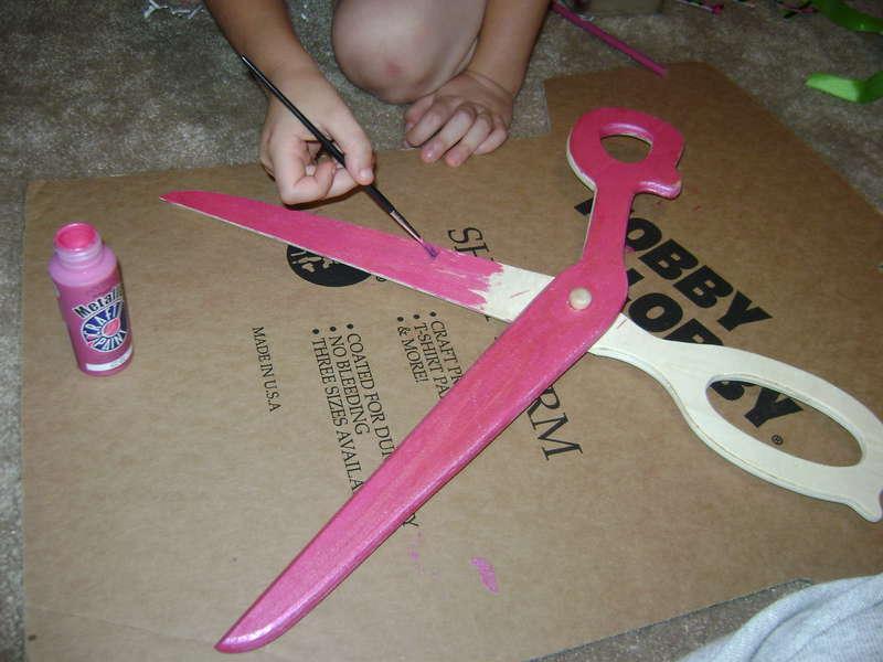 Altered Scrapbook Scissors #1
