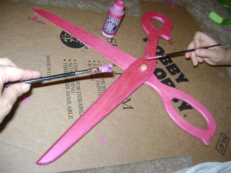 Altered Scrapbook Scissors #2