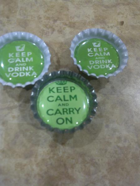 Altered bottlecaps - Fun