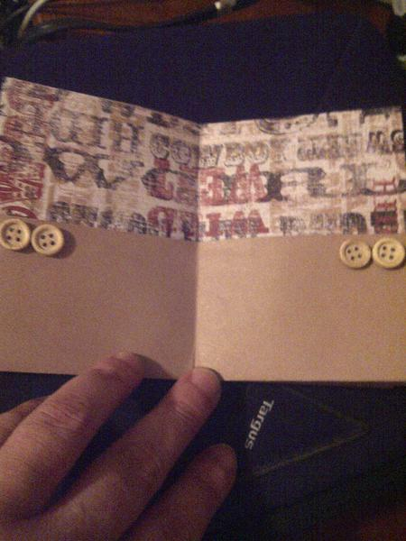 Pages 3 and 4 of mini album