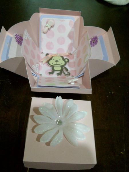 Exploding Baby Girl Box- INSIDE II