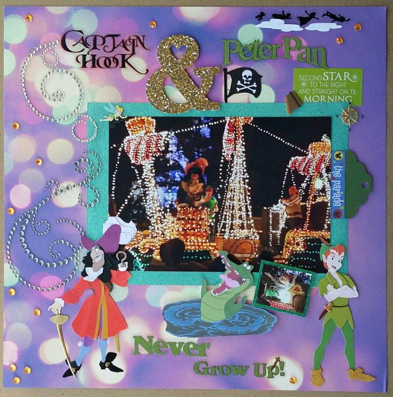 Captain Hook & Peter Pan