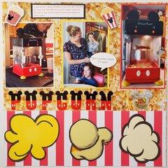 Mickey Popcorn Machine