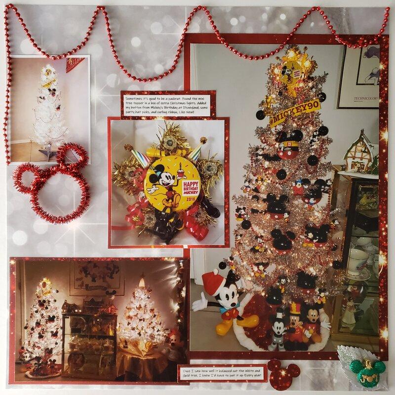 O Christmas Tree, O Mickey Tree!