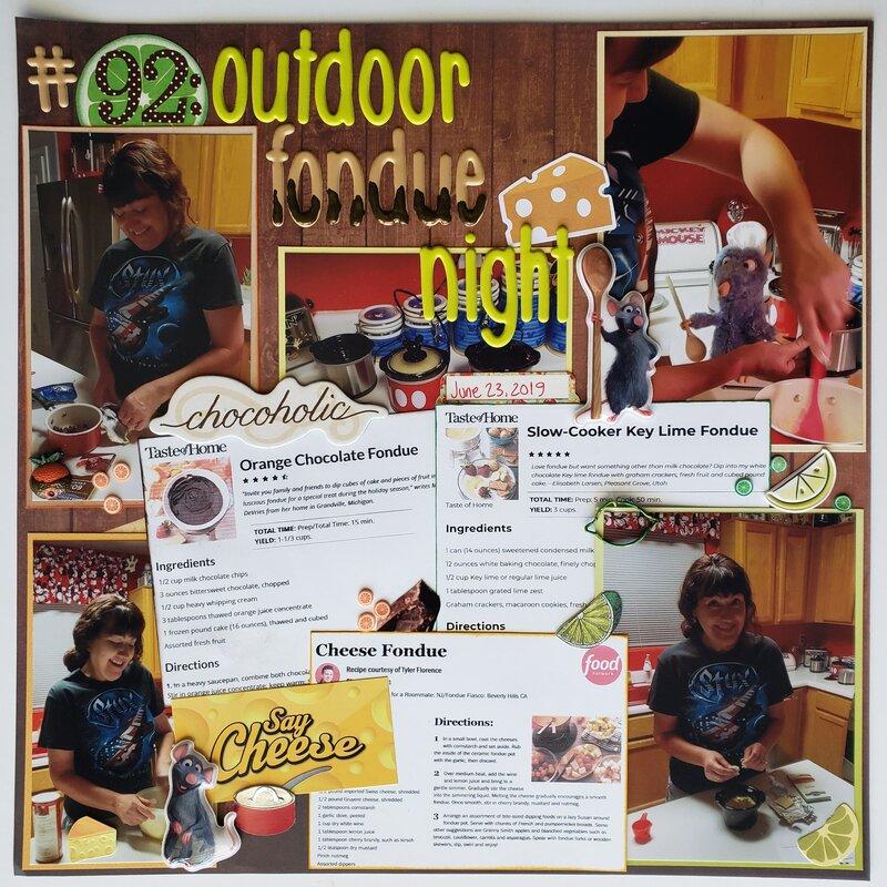 #92: Have an Outdoor Fondue Night (left side) 101 Ways to Enjoy Summer