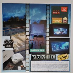 #9: Create Your Own Drive-In Movie Theater With A Sheet And Projector
