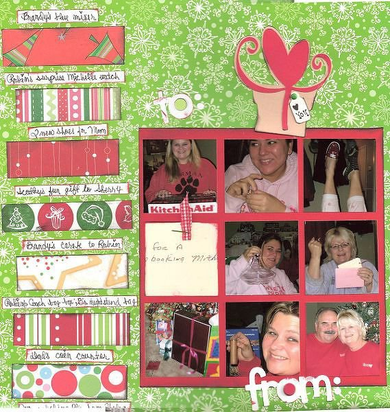 patterned paper #32;, Christmas gifts