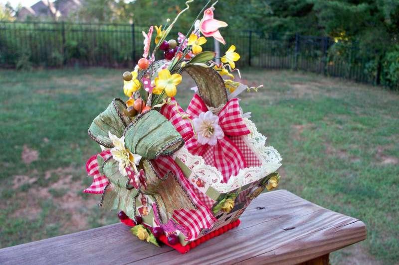 Spring Basket for Frndly1 (Inside View)