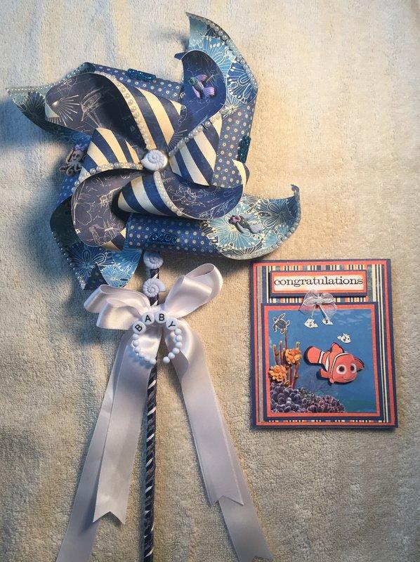 Pinwheel and Card