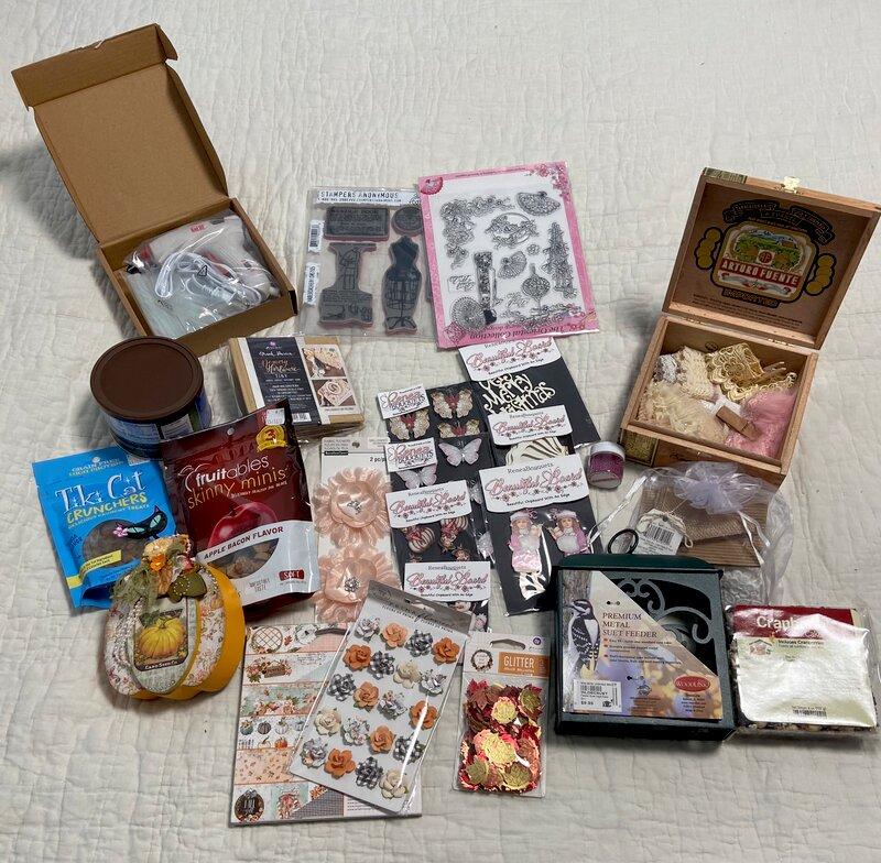 Secret Santa gifts for Geraldine.