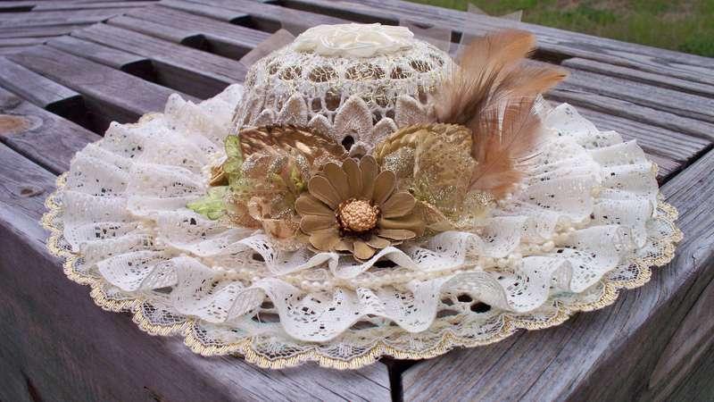 Victorian hat.