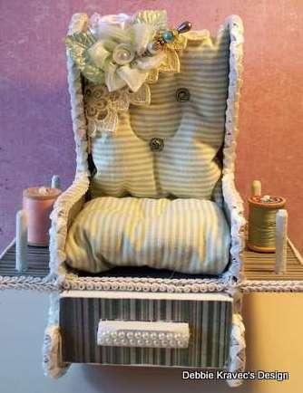 Rocking Chair Pin Cushion