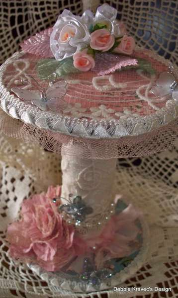 shabby chic Altered Spool
