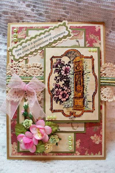 LaBlanche Stamped Card