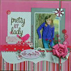 Pretty Li'l Lady **Serendipity Scrapbooks**