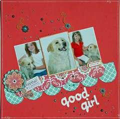 Good Girl (Serendipity Scrapbooks Sept kit)