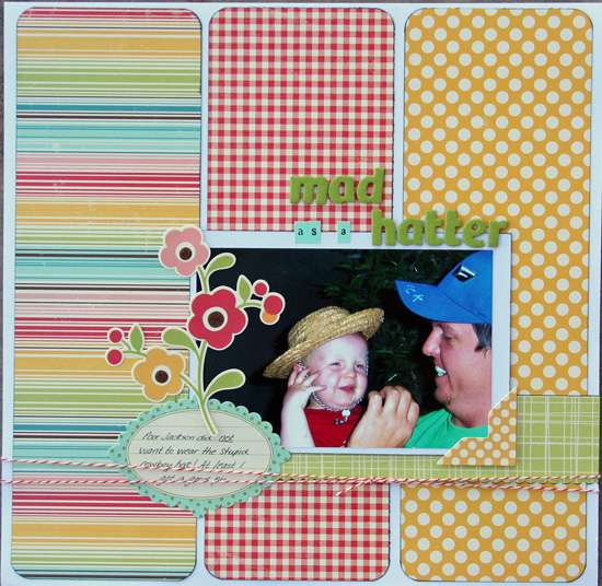 Mad As A Hatter **Your Scrapbook Stash**