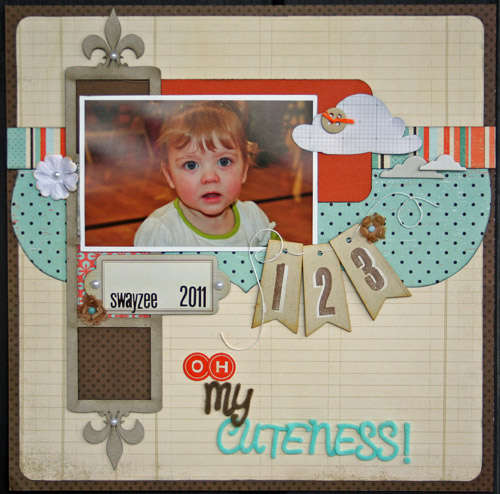 Oh My Cuteness **Jan Birds Of A Feather Kit**
