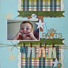 Silly Pants *Sweet Peach Crop Shop**