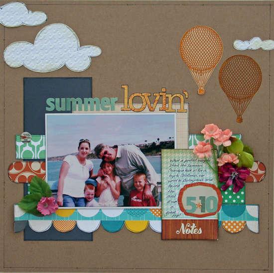 Summer Lovin' **Your Scrapbook Stash**