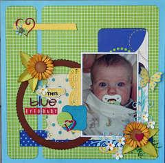This Blue Eyed Baby **Cheery Lynn Designs**
