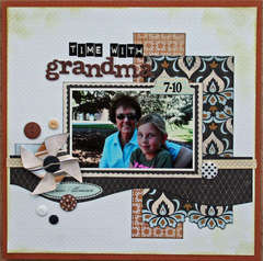 Time With Grandma **Queenscraps**