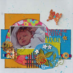 Welcome To The World **Cheery Lynn Designs**