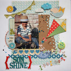 You are My Son Shine - A Million Memories September Kit