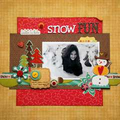 Snow Fun - Creative Scrappers -139