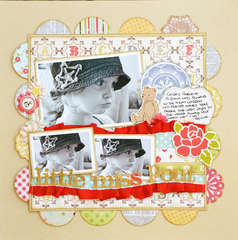 Little Miss Pout ** My Creative Scrapbook**