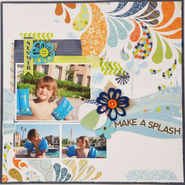 Make a Splash - My Creative Scrapbook