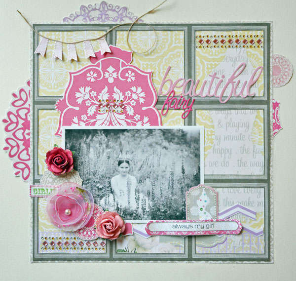 Beautiful Fairy - My Creative Scrapbook