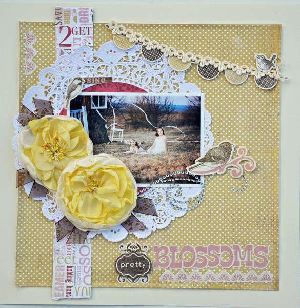 Pretty Blossoms - My Creative Scrapbook