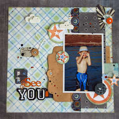 I See You - Creative Scrappers #125