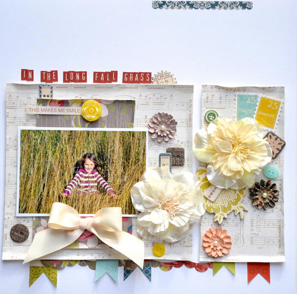 In The Long Fall Grass * My Creative Scrapbook *