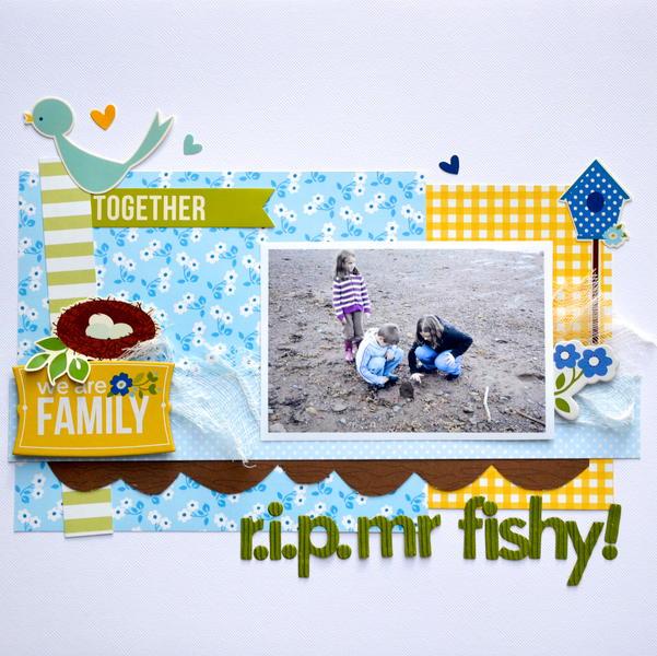 r.i.p Mr Fishy! * My Creative Scrapbook *
