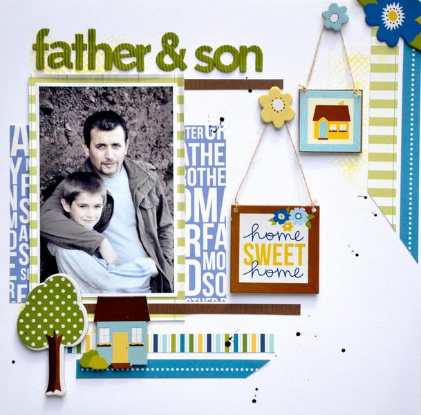 Father & Son * My Creative Scrapbook *