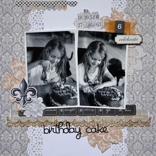 Birthday Cake - My Creative Scrapbook