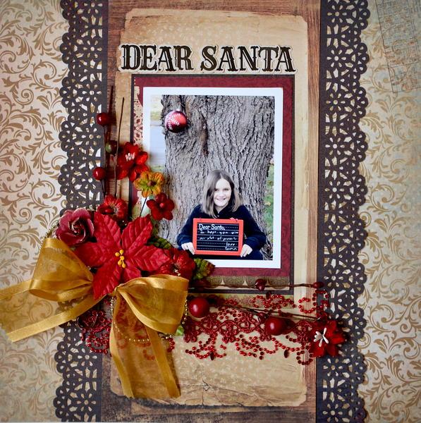 Dear Santa * My Creative Scrapbook *