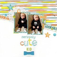 seriously cute kid (bella blvd) || HappyGRL