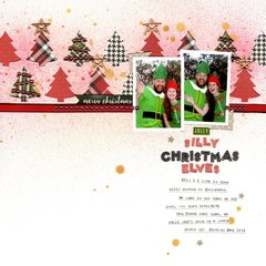 silly christmas elves (my creative scrapbook) || happyGRL