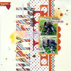 happy fall (my creative scrapbook) || happyGRL