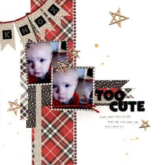 too cute (my creative scrapbook) || happyGRL