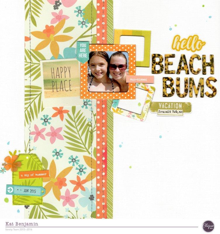 beach bums (clique kits) || happyGRL