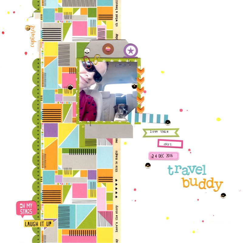 travel buddy (paper issues) || happyGRL