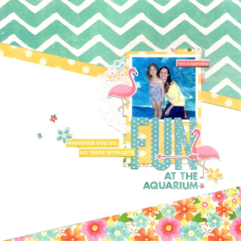 fun at the aquarium (jillibean soup)    happyGRL