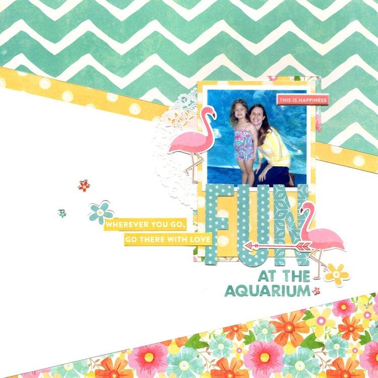 fun at the aquarium (jillibean soup) || happyGRL